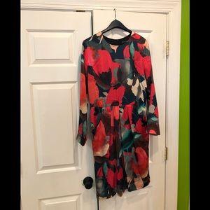 St. John Watercolor dress